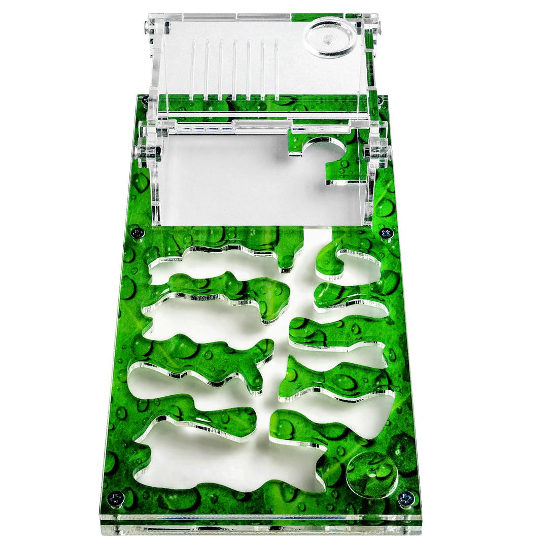 Комплекты с Муравьиной фермой «Муравьиный рай S» зеленый лист
