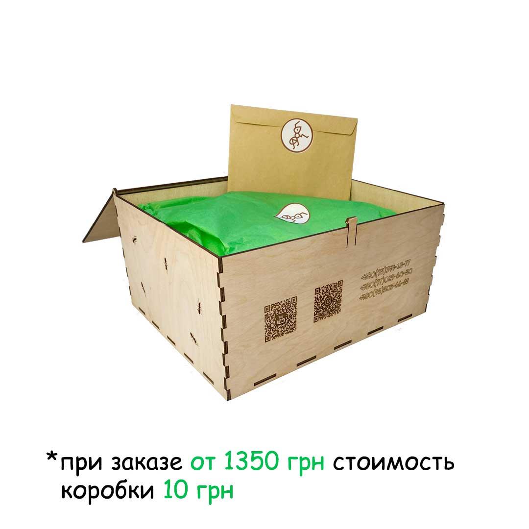 Подарочная коробка из натурального дерева